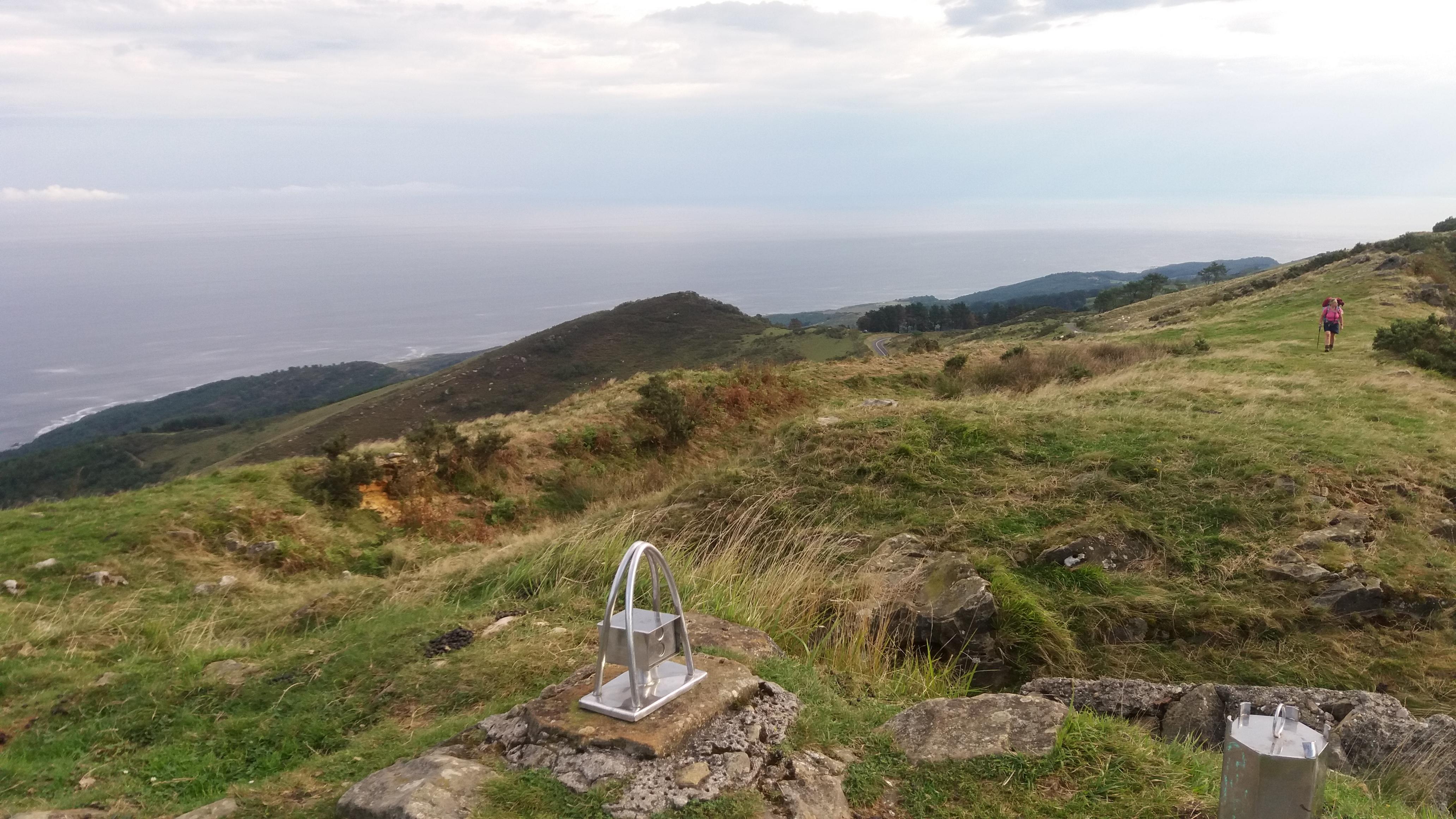 View of the Bay of Biscay from Jaizkibel