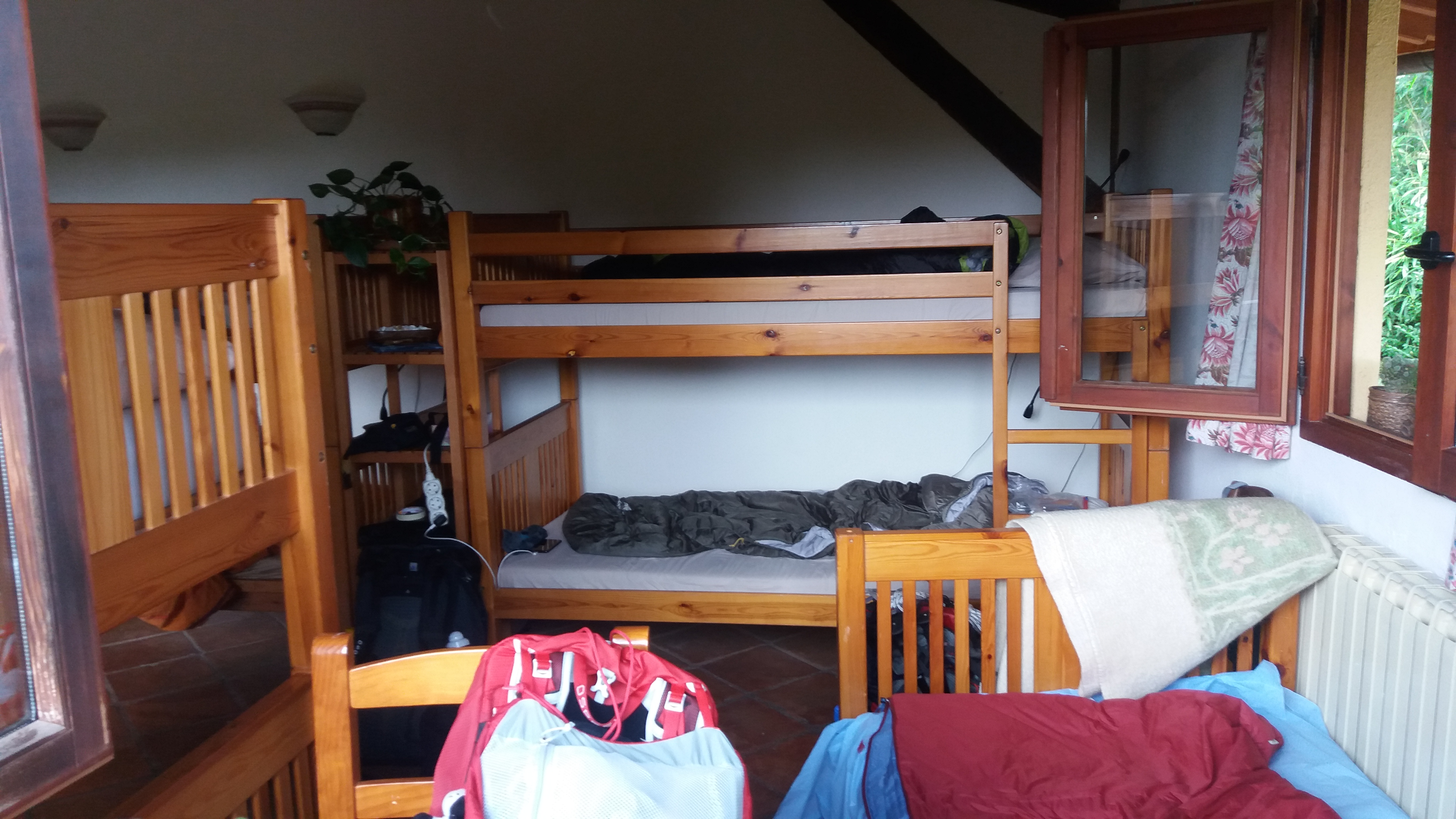 Cosy sleeping place with the 12 tribes