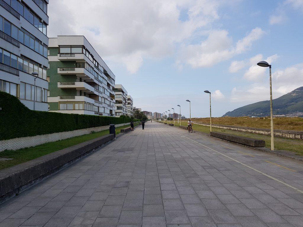 Die Strandpromenade