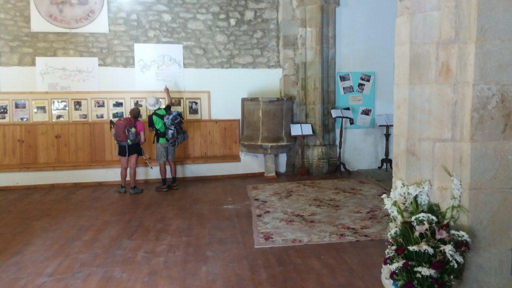 Innen in der Ermita