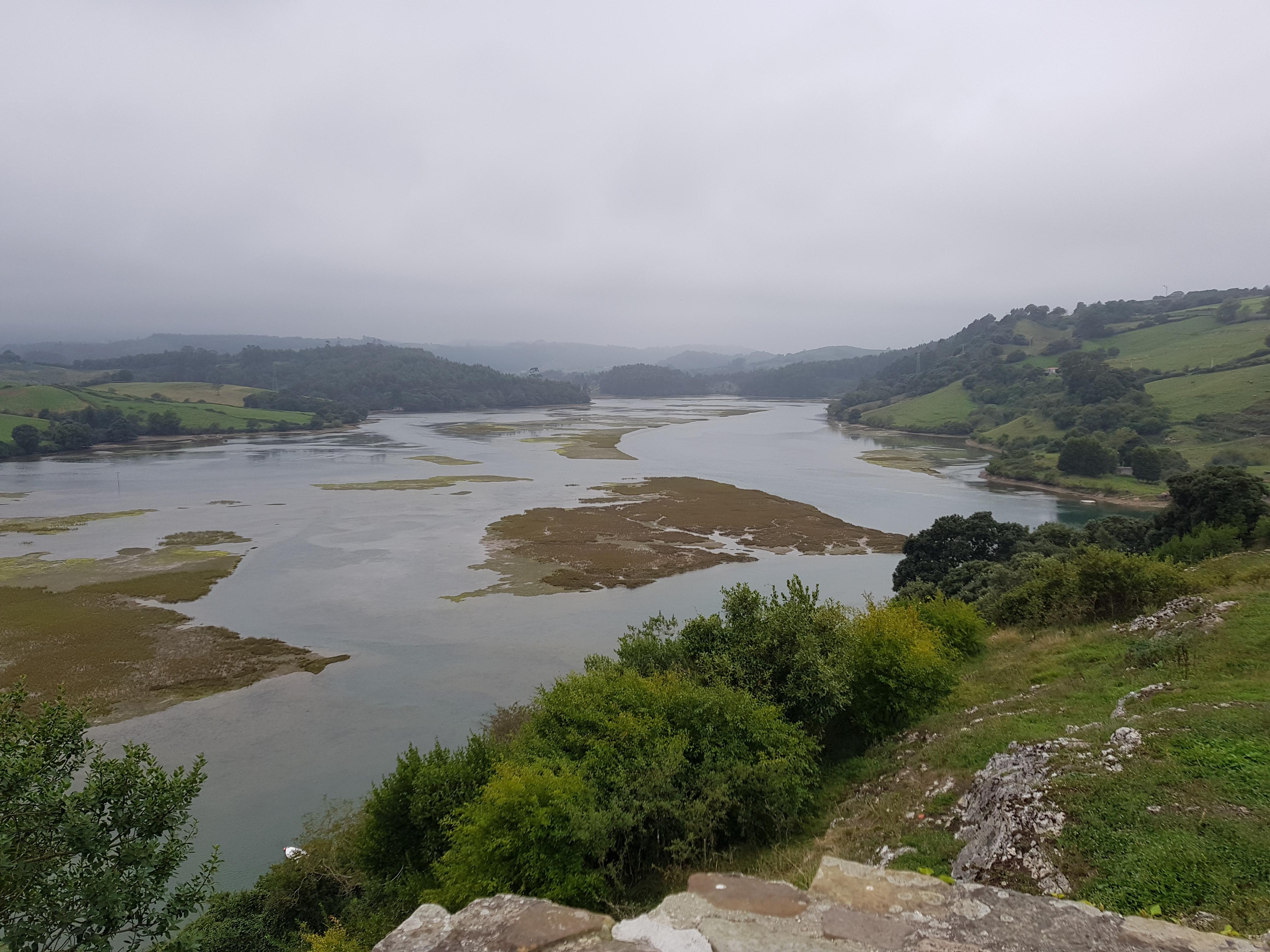 Ria in der Nähe von San Vicente