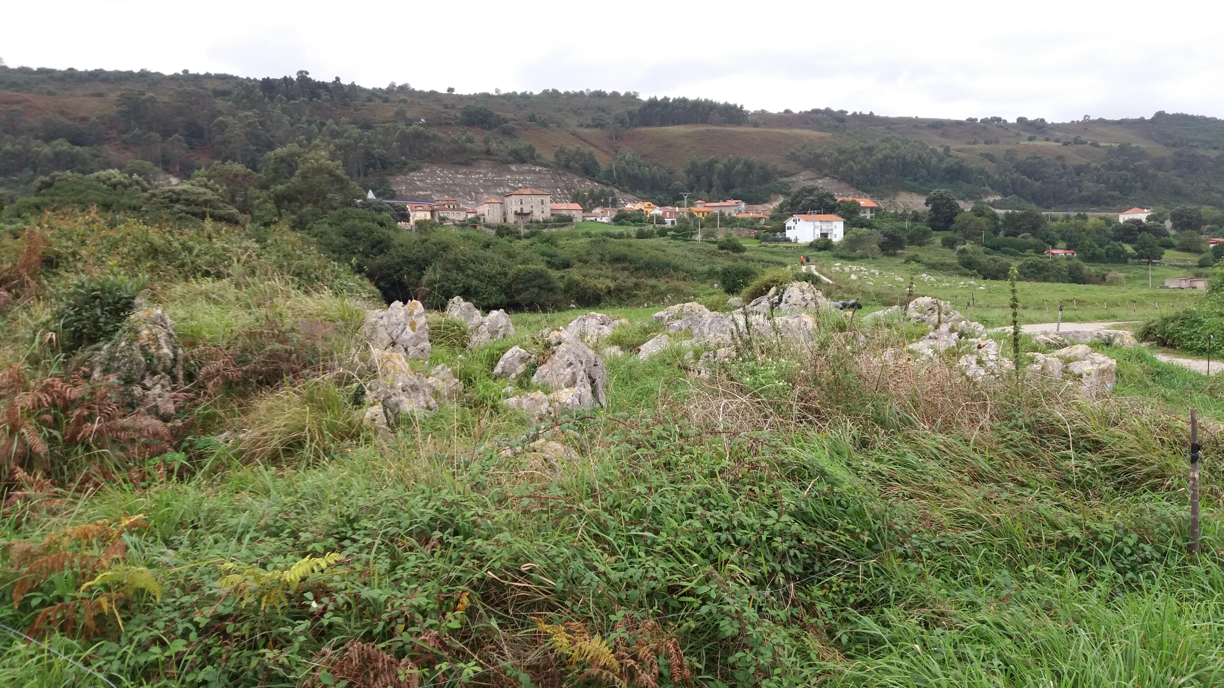 Erster Blick auf Buelna
