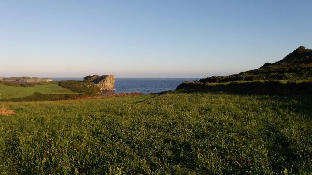 Morgens westlich von Póo