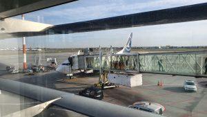 Flugzeug von TAROM