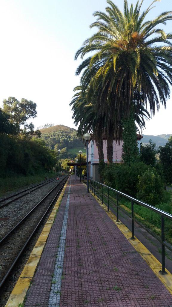 Der Bahnhof von Nueva